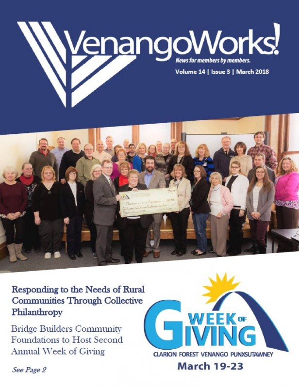 VenangoWorks! Newsletter March 2018 | Venango Area Chamber of Commerce