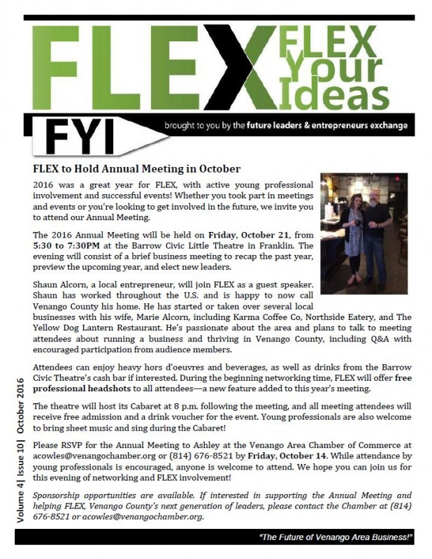 FLEX FYI / October 2016
