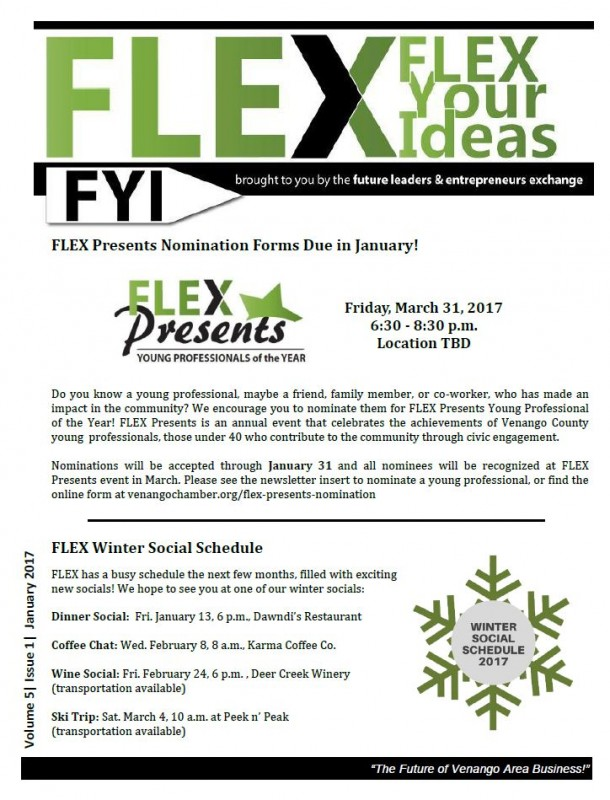 FLEX FYI January 2017 | Venango Chamber