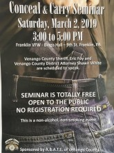 Conceal and Carry Seminar