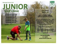 JR Golf ~ flyer