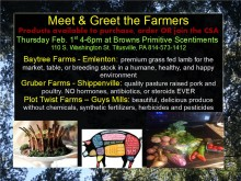 Meet n Greet Farmers Feb 2018