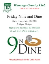 Nine and Dine