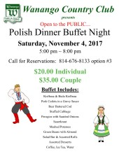 Polish Dinner Night