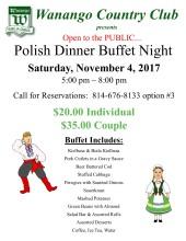 Polish Dinner Night