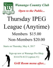 Thursday IPEG League