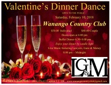 Valentine Dinner Dance ~ flyer