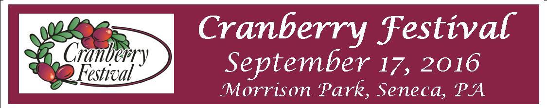 2016 Cranberry Festival