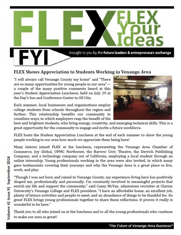 FLEX FYI / September 2016
