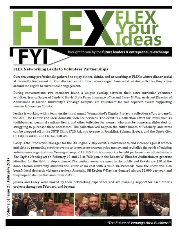FLEX FYI February 2017 | Venango Chamber