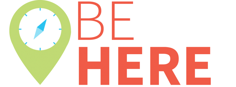 Be Here Logo - Large,Transparent - No tagline