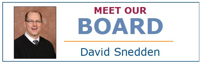 Meet Our Board - David Snedden
