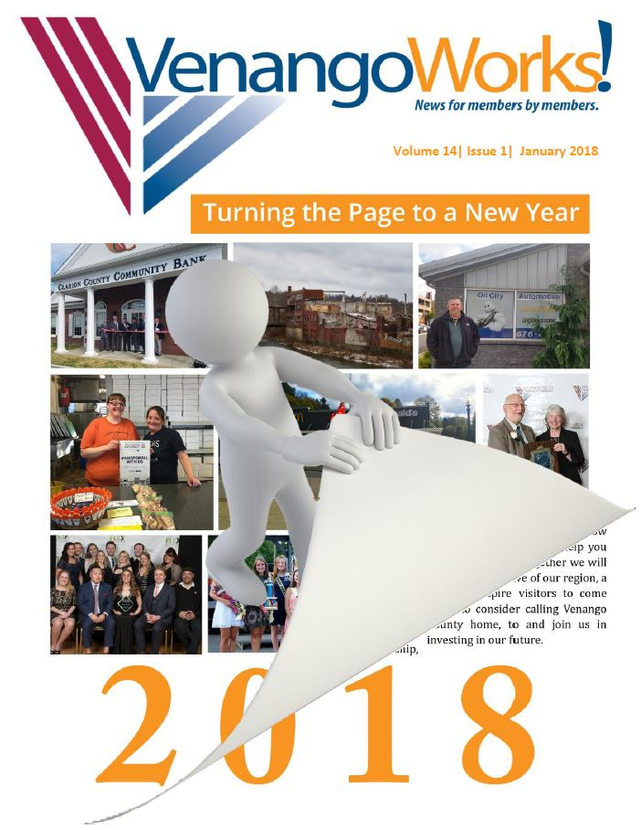 VenangoWorks! Newsletter January 2018 | Venango Area Chamber of Commerce
