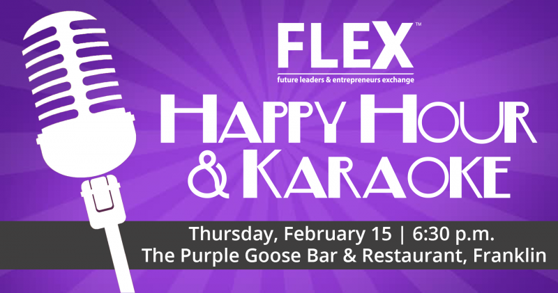 Happy Hour & Karaoke FB Cover - Feb 15