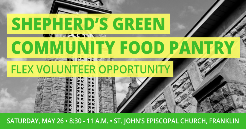 Shepherds Green Food Pantry 5.26.18 FB Event