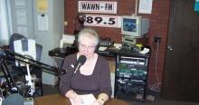 Jane at mic