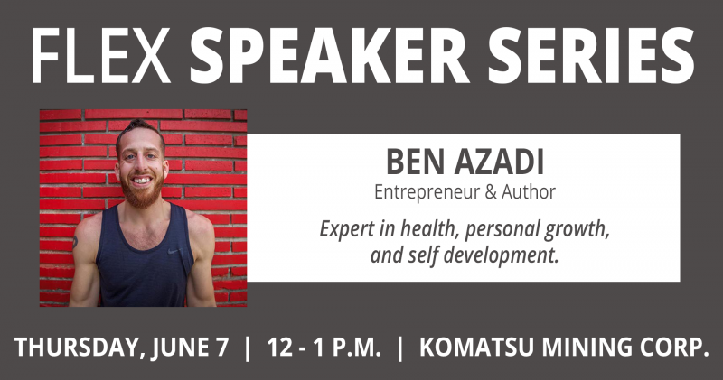 Speaker Series Ben Azadi Cover Photo