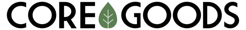 White background, black & green logo
