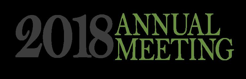 2018 Annual Meeting Logo